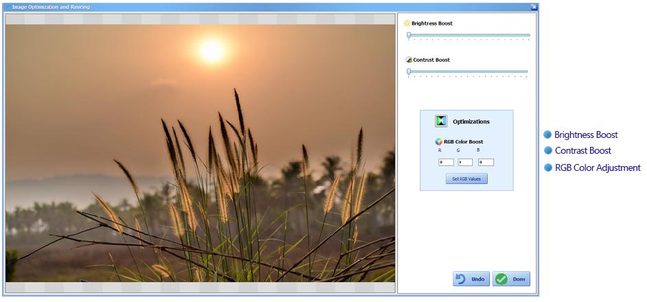 image optimizer watermark software