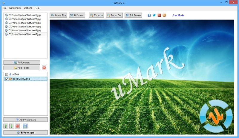 umark watermark software